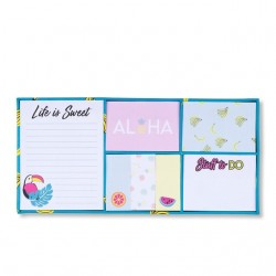 Set 7 Post it Tropical Sticky Notes