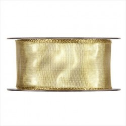 Nastro mida oro 20mt x 40mm gold