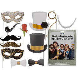 Accessori Per Selfie Su Bacchetta Party Photo Booth Glamour