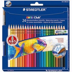 Pastelli staedtler 24 matite colorate acquerellabili noris club 144