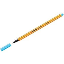 Penna stabilo point punta sintetica 0.4mm 88/57 Azzurro