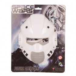 Maschera plastica viso the guardian guardiano star wars carnevale