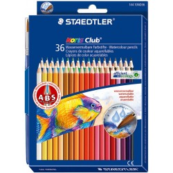 Pastelli staedtler 36 matite colorate acquerellabili noris club 144