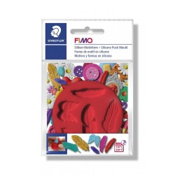 Forma in silicone stampi fimi staedtler 7cm
