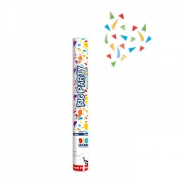 Cannone sparacoriandoli multicolor metal 40cm
