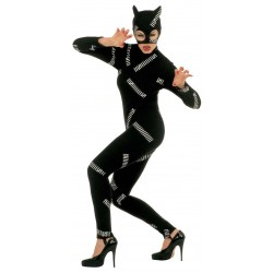 Costume Cat Woman Carnevale S Donna