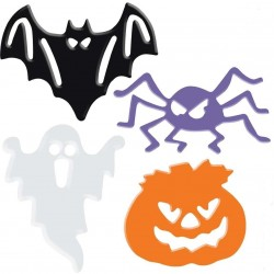 Halloween Stickers decorazione halloween Assortiti