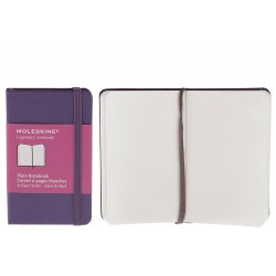 Plain Notebook Moleskine xs Legendary Viola brillante 6.5x10.5cm