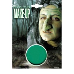 Make up vaschetta cerone trucchi colorati viso verde