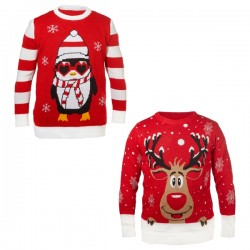 Pullover Natale Ugly Christmas Unisex Fantasia Assortita