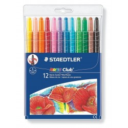 Pastelli a cera 6mm Steadtler Noris club 221 twister 12pz