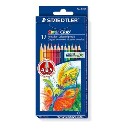 Pastelli matite colorate staedtler noris club 12 pz