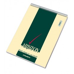 Blocco Notes Ariston spirale a4 quadretti 5 mm 60 fogli