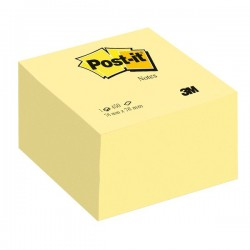 Post It Cubo 76x76 mm 450 fogli adesivi balance giallo canary