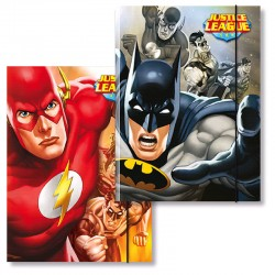 Cartellina 3 lembi justice league 25x35x1,2 cm