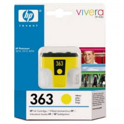 Cartuccia hp 363 yellow photosmart 3110-3210-3310-8250