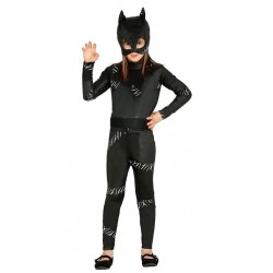 Costume Cat Woman Carnevale Bambina