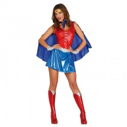 Costume wonder woman girl eroina vestito carnevale