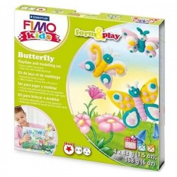 Fimo kids butterfly form e play formine