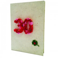 Guest book compleanno 30 anni  13x18 cm