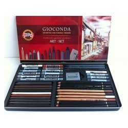 Kit 39 pz art-set gioconda h8891 koh-i-noor
