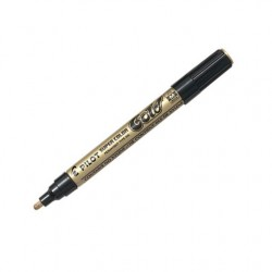 Marcatore pilot super color gold - silver - white   ef/f/m