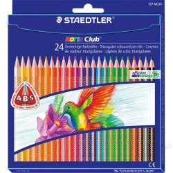Pastelli matite colorate staedtler noris club 144 conf. 24pz