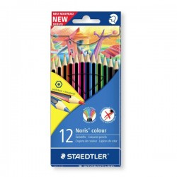 Pastelli matite colorate staedtler noris colour 12 pz