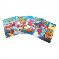 Quaderno maxi a4 super wings scuola quadernone 10pz