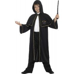 Mantello Halloween Mago Harry Potter Nero Carnevale