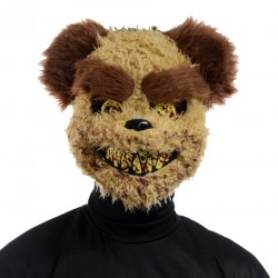 Maschera Horror Teddy Bear Halloween Plastico