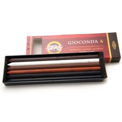 Mine artistiche gioconda koh i noor 6b 5.6mm assortite