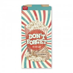 Block Notes con Retro Magnetico e Matita Don't Forget