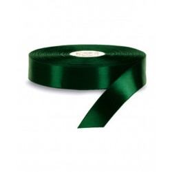 Nastro Regalo Raso Verde Petrolio  40mm x 50mt