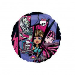 Palloncino monster high 43cm mylar Party elio