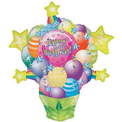 Palloncino happy birthday 86cm mylar Party elio