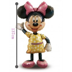 Palloncino minnie xl 137cm mylar Party elio