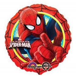 Palloncino the ultimate spiderman 43cm mylar Party elio
