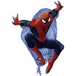 Palloncino the ultimate spiderman 73cm mylar Party elio