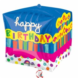 Palloncino happy birthday xl mylar Party elio quadrato