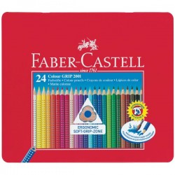 Pastelli Matite Colorate faber castell colour grip 2001 24 pz