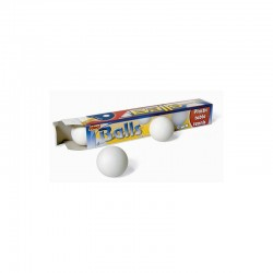 Palline Ping Pong Bianche 35mm 6 pezzi