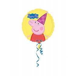 Palloncino Peppa Pig 43cm Party Mylar Elio