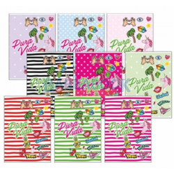 Quaderno Scuola Maxi ColourBook A4 Pura Vida 10 Pz 5mm