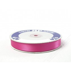 Nastro in raso double face fucsia 50mt x 15mm
