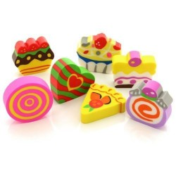 Set gommine candy 7 gomme assortite