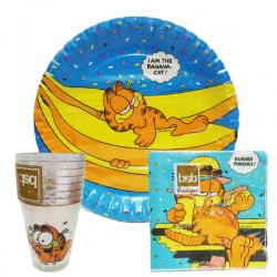 Set festa garfield 3 pz party