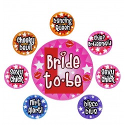 Set spille addio al nubilato bride to be 8 pz