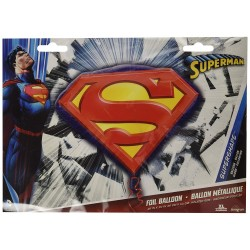 Palloncino Superman 66cm Party Mylar Elio