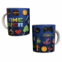 Tazza Con Manico Ceramica Game Over Mug